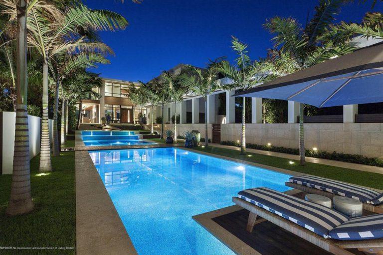 Charming Beach House Palm Beach Part - 7: Former Fox News CEO Roger Ailes Drops $37 Million On Palm Beach Mansion