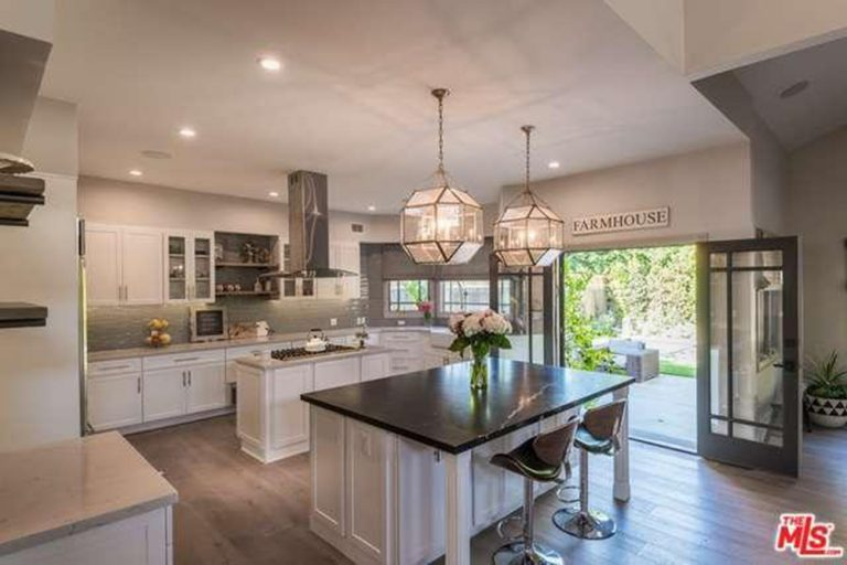City Home Kitchen shawn ashmore snags haylie duff's studio city house - celebrity