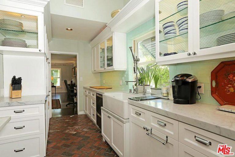 City Home Kitchen check out selena gomez's stunning studio city home - celebrity