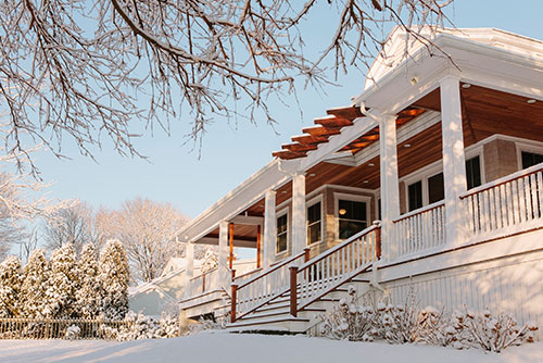 winter real estate